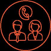 Colegio Medico Regional Santiago icono ejecutivo circular