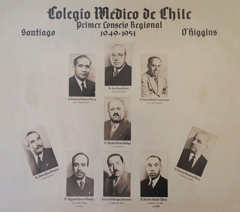 Colegio Medico Regional Santiago historia foto consejo
