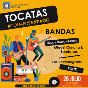 #TocatasColmedSantiago_Julio